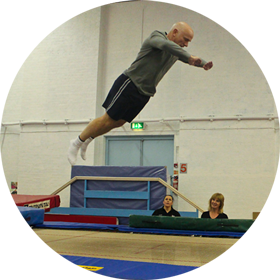 Adult Trampolining and Gymnastics Sessions