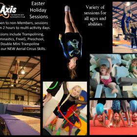 Easter Holiday Daytime sessions 2017