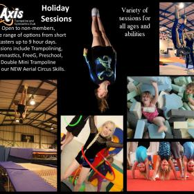 October Half Term Holiday Sessions