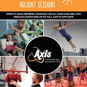 Axis Summer Holiday Sessions 2019